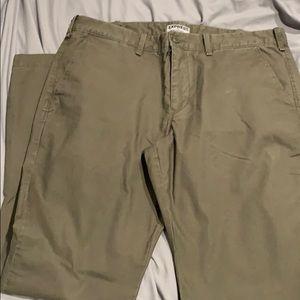 Men's Express photographer khaki pants 36x34